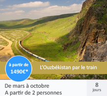 L'Ouzbékistan par le train