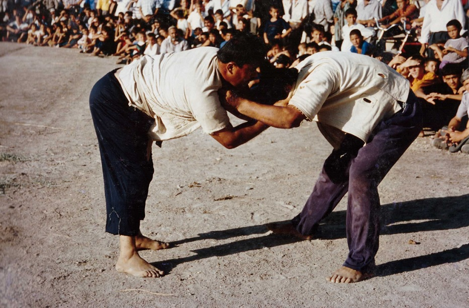 Kourach, lutte Ouzbeke