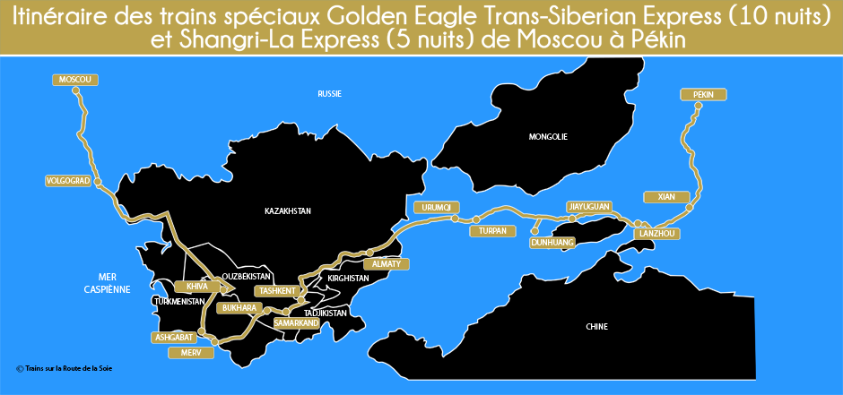 Circuit  Golden Eagle de Moscou à Pekin