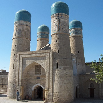 Désert et coupoles d'Ouzbékistan