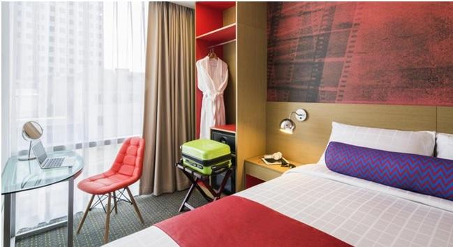 Chambre de l'hôtel à Séoul