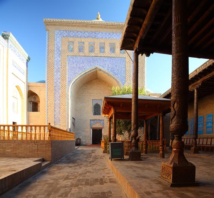 Mosquée à Khiva - Artisanat
