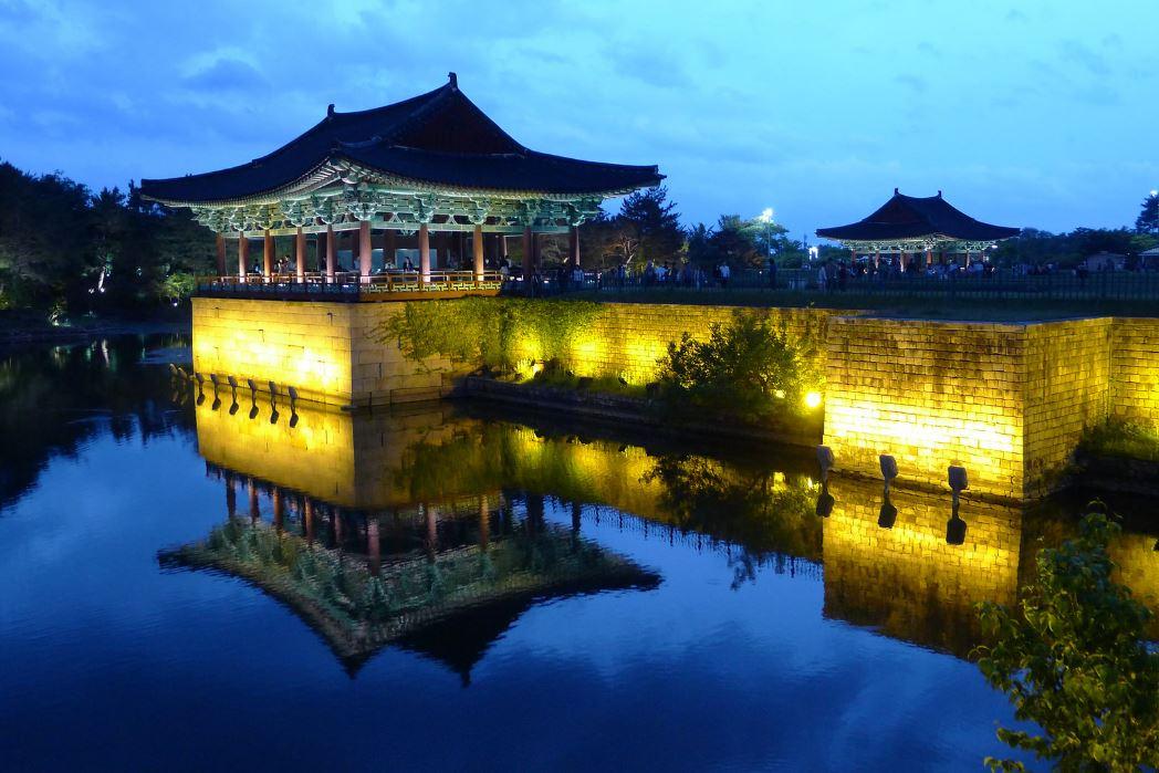 Palais de Donggung et étang Anapji
