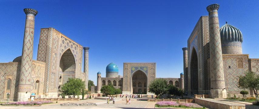 J8 : Samarkand - Tashkent