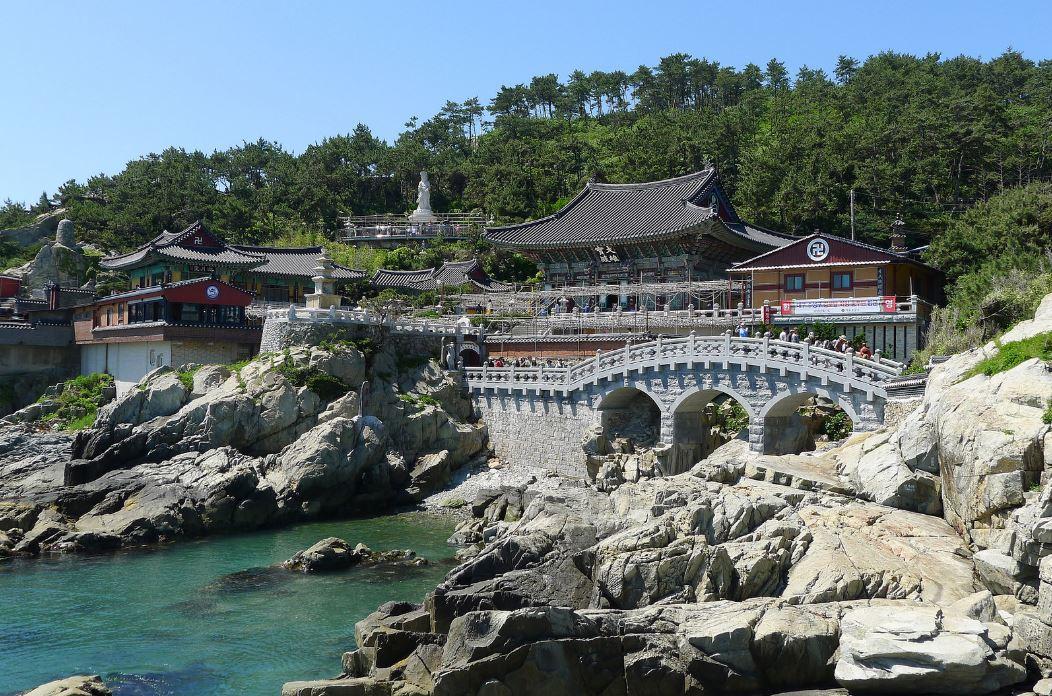 Temple Haedong Yonggung à Busan