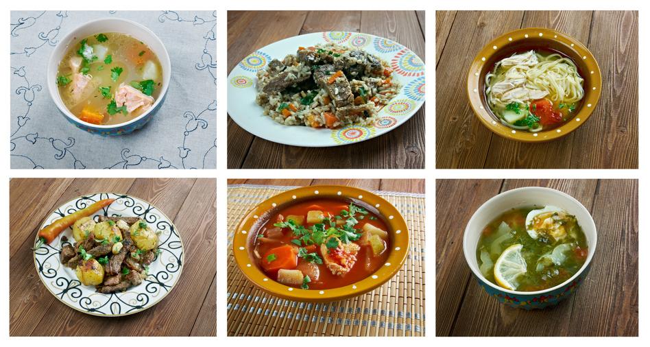 Cuisine Ouzbeke - Différents plats